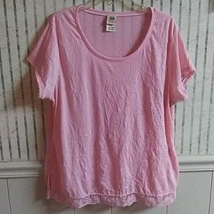 Faded Glory Women's Plus Pink Top Size 18W